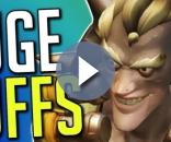 'Overwatch' Junkrat's Concussion Mine and RIP-Tire are getting adjustments soon(LoneHawk/YouTube Screenshot)