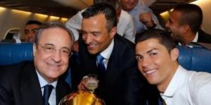 Florentino se reúne con Mendes, agente CR7