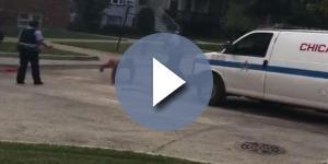 Homem decepou o próprio pênis e ainda tentou agredir policiais (Foto: Captura de vídeo)