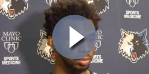The Wolves acquired Andrew Wiggins from the Cavaliers via trade in 2014 -- DaHoopSpot Productions via YouTube