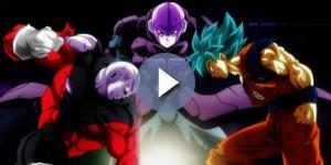 FanArt de Goku, Hit y Jiren en el Torneo del Poder