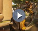 """Junkrat's Concussion Mine allows him to triple jump in """"Overwatch"""" PTR (via YouTube/PlayOverwatch)"""
