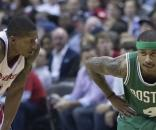 The Boston Celtics might strike a deal with the Cavs for Thomas Wikimedia Commons/Keith Allison