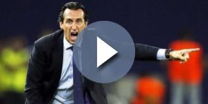 Emery, l'entraineur du Paris Saint Germain