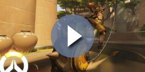 "Junkrat's Concussion Mine allows him to triple jump in ""Overwatch"" PTR (via YouTube/PlayOverwatch)"