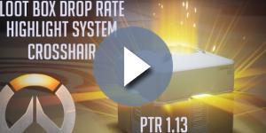 'Overwatch': lootbox drop rate, highlight system, crosshair options, LIVE! (NicooPanda/YouTube Screenshot)