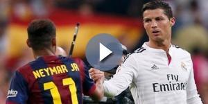 Neymar y Cristiano Ronaldo estrellas del fútbol mundial