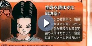 Scan de la revista Shonen Jump con la sinopsis del ep. 102