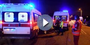 Terribile incidente in strada: uomo perde il controllo della propria moto