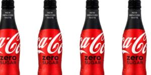 The new Coke Zero Sugar, replacing Coke Zero. / from 'Business Insider' on Twitter - twitter.com
