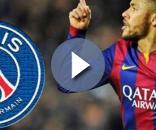 Neymar podría llegar al Paris Saint Germain