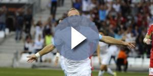 Valère Germain a marqué un triplé historique pour son premier match officiel