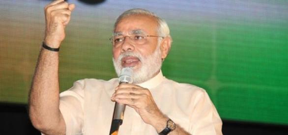 Narendra Modi's official Flickr account via wiki