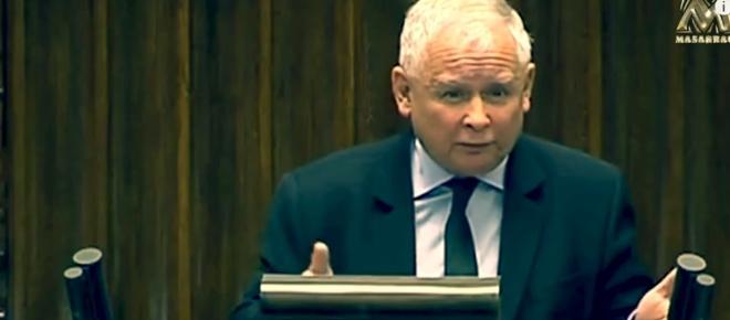 Burza w Sejmie. Kaczyński powiedział m.in. co myśli o inwazji na Europę [WIDEO]