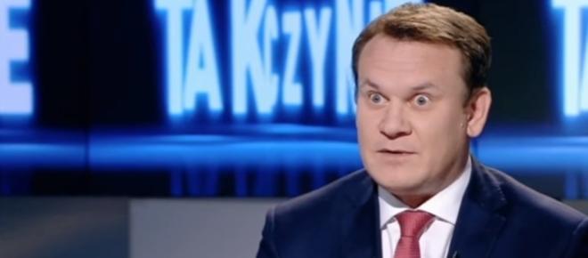 Tarczyński w Polsacie do posła Platformy: 'Słyszy pan głosy'? Zatkało go [WIDEO]