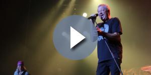Roger Glover e Ian Gillan em grande forma durante o concerto