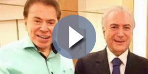 Silvio Santos veicula propaganda de Temer na TV