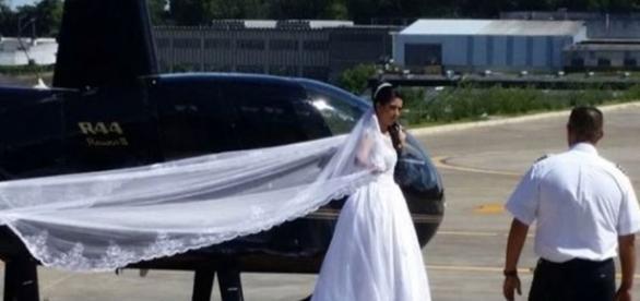 Polícia e Aeronáutica investigam queda do helicóptero que matou a noiva e outras 3 pessoas