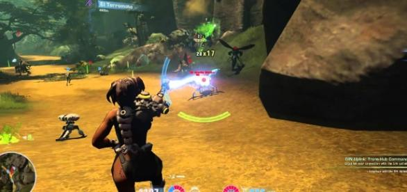 Firefall Gameplay Max Settings | BIlly Tabor/YouTube