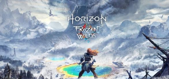 """The first ever DLC of """"Horizon Zero Dawn"""" is called """"The Frozen Wilds"""" (via YouTube/PlayStation)"""