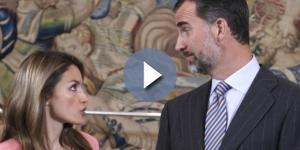 Letizia y Felipe, regañina en plena calle. Noticias de Casas Reales - elconfidencial.com