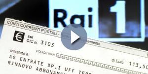 In arrivo il pagamento del Canone Rai Speciale