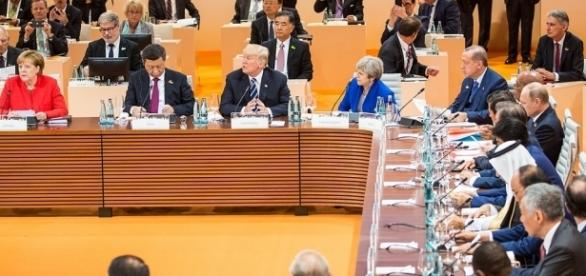 G20 Summit, 2017 / [Image by White House via Flickr, Public Domain]