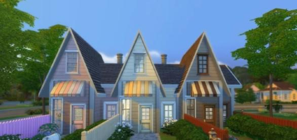 ICECREAM TINY HOMES!! ~ The Sims 4 House Image credit Building Deligracy YouTube
