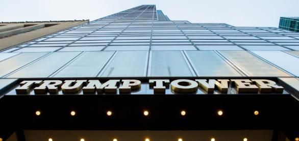 Trump Tower entrance in New York. / [Image by Anthony Quintano via Flickr, CC BY 2.0]