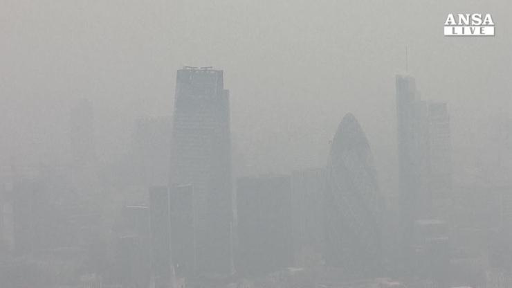 A Londra smog a livelli massimi