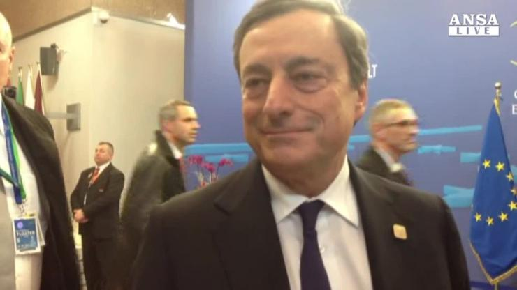 Draghi, contro stagnazione misure non convenzionali
