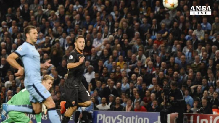 Manchester City-Roma, info streaming, diretta tv e ...