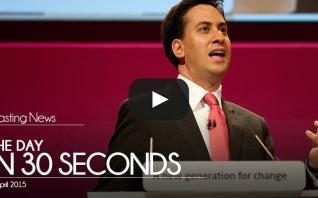 The day in 30 seconds - 08 April 2015