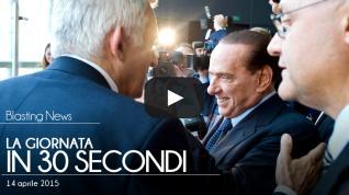 La giornata in 30 secondi - 14 aprile 2015