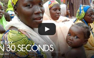 The day in 30 seconds - 14 April 2015