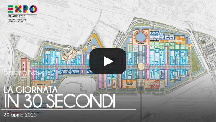 La giornata in 30 secondi - 30 aprile 2015