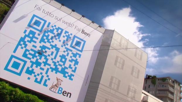 Ben Assicura: l'assicurazione web cambia il modo di comunicare con il QR Code più grande del mondo