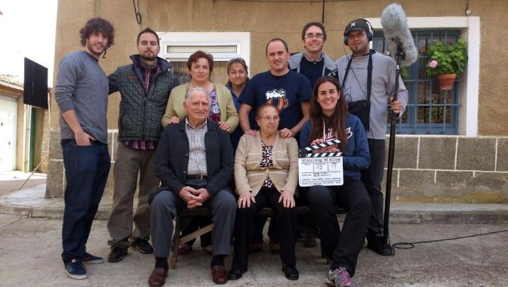 Vuelta al rodaje de El Cid con Charlton Heston en Valladolid.