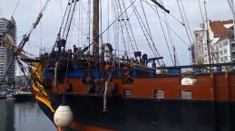 Evénement nautique à Ostende, en Belgique.