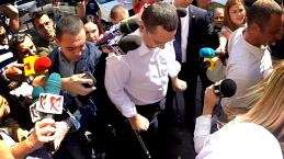 Sosirea lui Victor Ponta la DNA