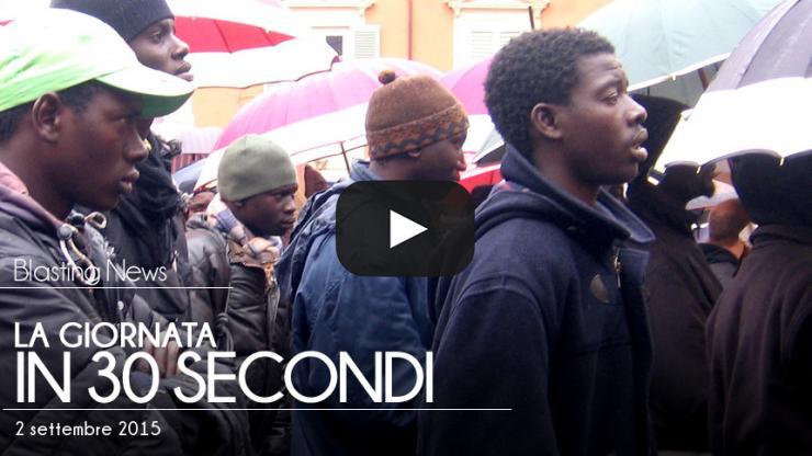La giornata in 30 secondi - 2 settembre 2015