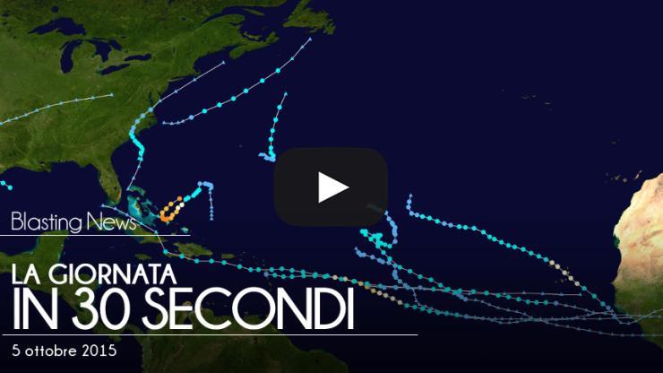 La giornata in 30 secondi - 5 ottobre 2015