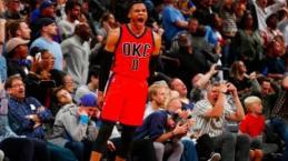 Video: Russell Westbrook hizo historia al llegar a 42 triples dobles en una temporada