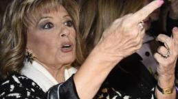 Video: La amenaza de María Teresa Campos a Bigote antes de subir al avión