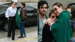 Video: Inconformada com a morte de ator, Claudia Raia se desespera em velório