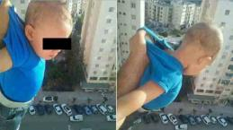 VIDEO: Algeri, bambino appeso dalla finestra per avere 1000 'like' su Facebook