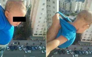 VIDEO: Algeri, bambino appeso dalla finestra per avere 1000 'like' su Facebook