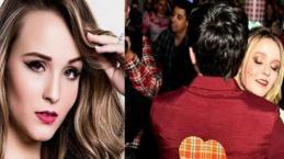 Larissa Manoela participa de festa junina com o namorado e roupa chama atenção