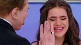 Maisa abandona, chorando, nova gravação com Dudu Camargo no programa do Silvio