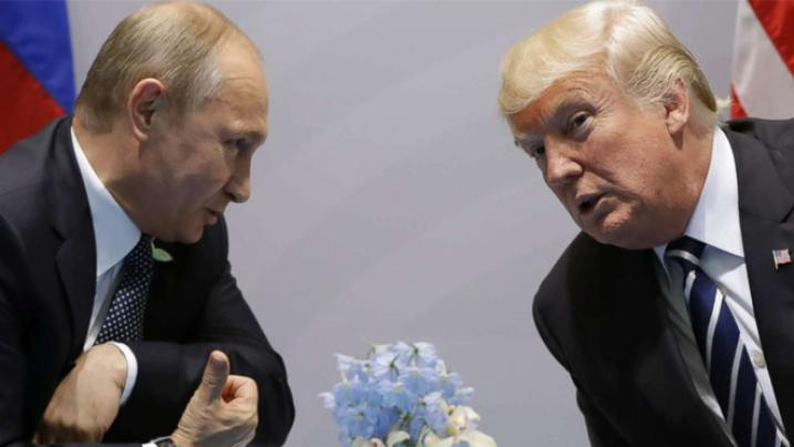 Donald Trump humiliated on Twitter after tweeting about meeting with Putin